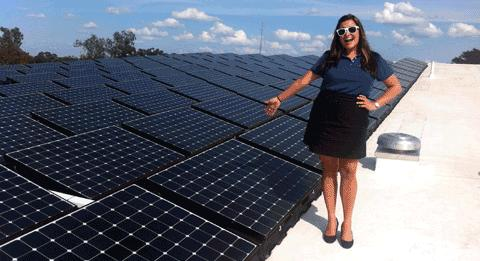 Ballasted SunPower Solar-Panels