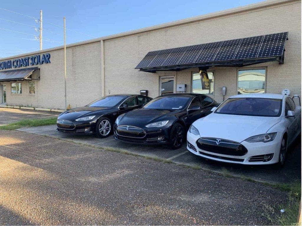 Free EV Charging and Wi-Fi at South Coast Solar