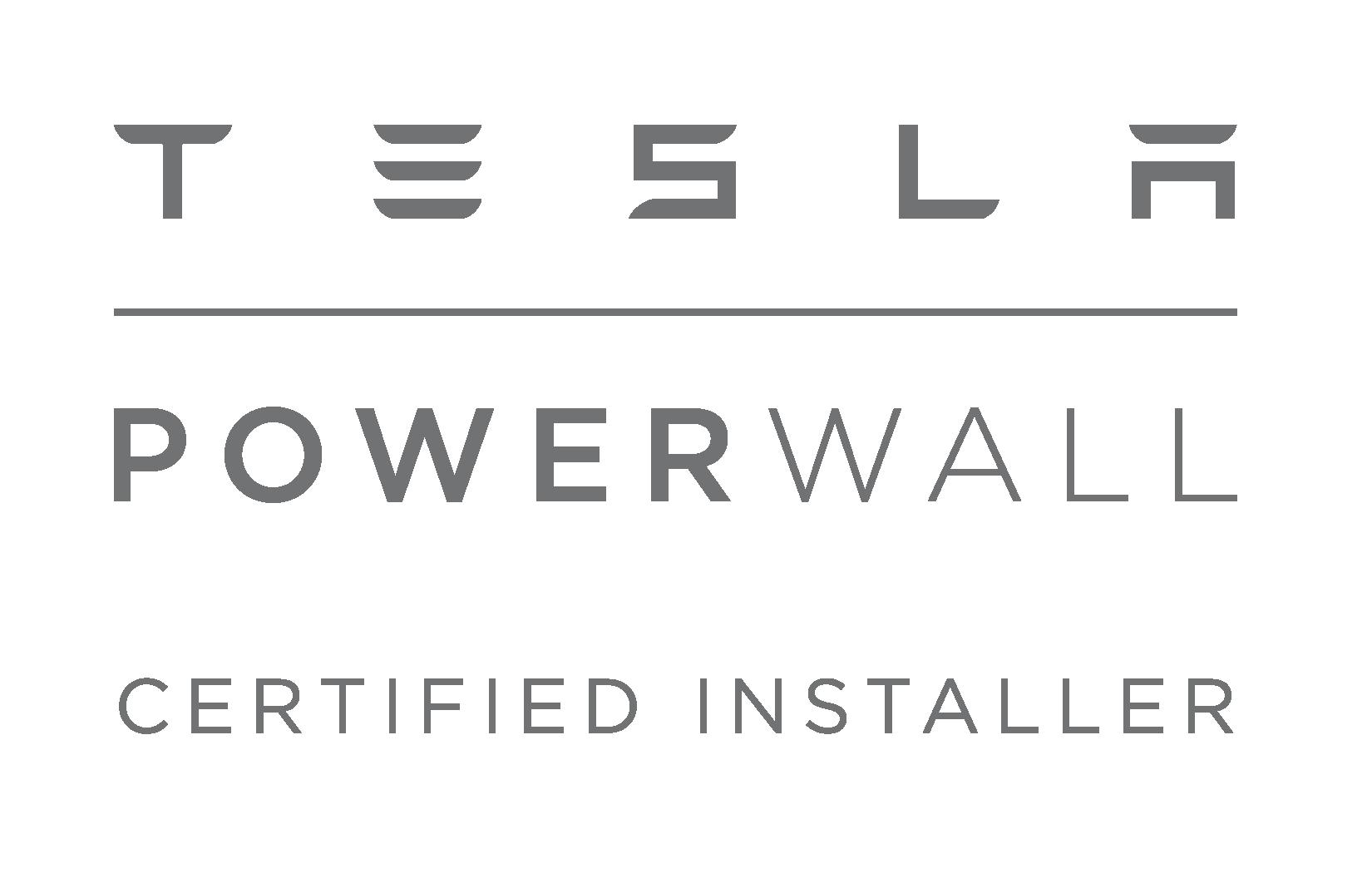 certified tesla powerwall sunpower solar panel installers